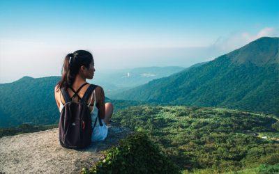 Das beste Abenteuer Tagesausflug Setup für Reisen und Outdoor Abenteuer