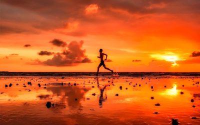 Sport und Fitness Training auf Reisen