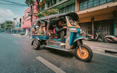 Taxis und ihre abenteuerlichen Kollegen